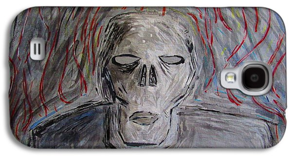 Creepy Galaxy S4 Cases - He waits for you Galaxy S4 Case by Daniel Hart