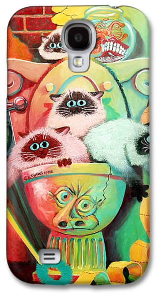 Head Cleaners Galaxy S4 Case by Baron Dixon