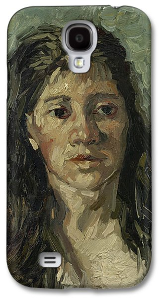 Head Of A Prostitute Galaxy S4 Case by Vincent van Gogh
