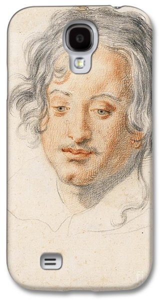 Head Of A Young Man Looking Down Galaxy S4 Case by Jacopo Vignali