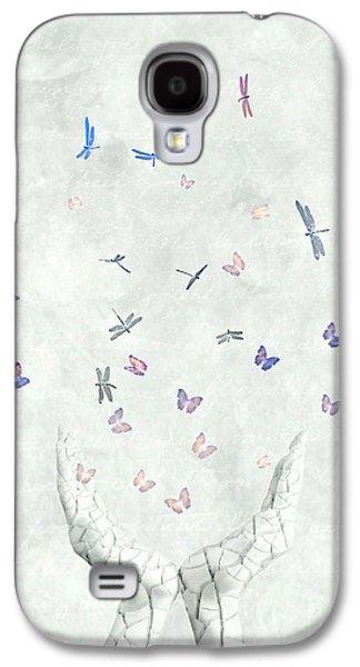 Surreal Digital Art Galaxy S4 Cases - Heal Galaxy S4 Case by Photodream Art