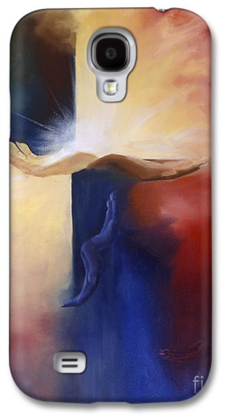 Hope And Healing - Unconditional Love Galaxy S4 Case by Maria Hunt