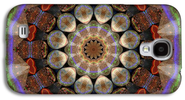 Healing Mandala 30 Galaxy S4 Case by Bell And Todd