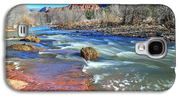 Heart Of Sedona 2 Galaxy S4 Case by Donna Kennedy