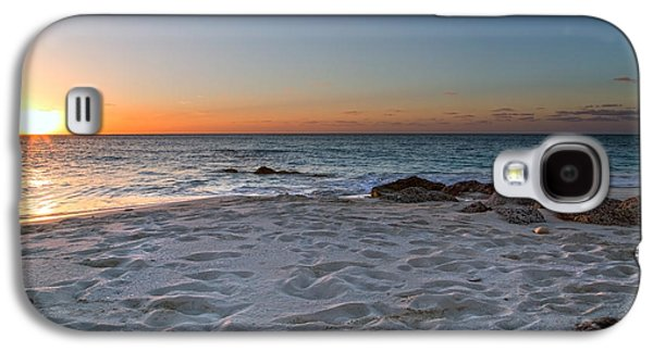 Timing Galaxy S4 Cases - Heartbreak Sunset Galaxy S4 Case by Betsy C  Knapp