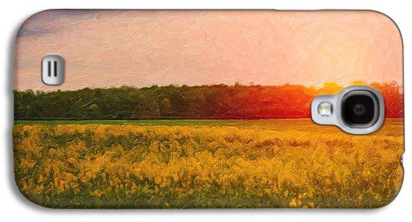 Heartland Glow Galaxy S4 Case by Tom Mc Nemar