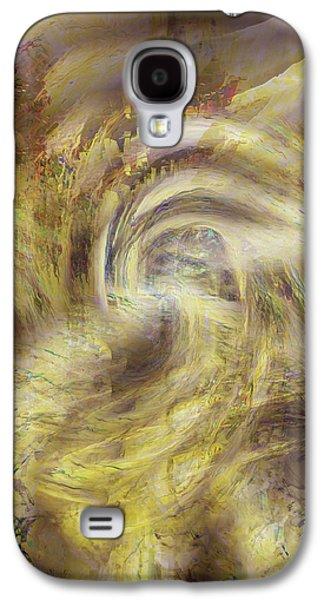Abstract Digital Digital Galaxy S4 Cases - Heaven and Earth Galaxy S4 Case by Linda Sannuti
