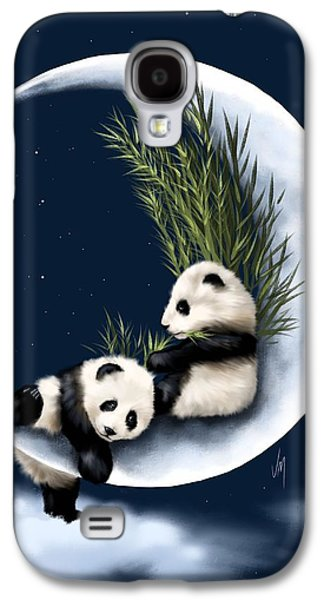 Puppies Galaxy S4 Cases - Heaven of rest Galaxy S4 Case by Veronica Minozzi