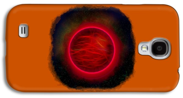 Abstract Digital Photographs Galaxy S4 Cases - Heavenly Body Galaxy S4 Case by John Bailey