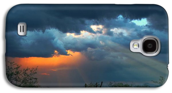 Sun Galaxy S4 Cases - Rays From Heaven Galaxy S4 Case by Kimmi Craig