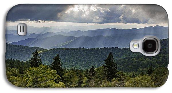Landscapes Photographs Galaxy S4 Cases - Heavens Door Galaxy S4 Case by Johan Hakansson