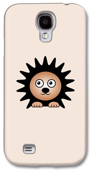 Series Galaxy S4 Cases - Hedgehog - Animals - Art for Kids Galaxy S4 Case by Anastasiya Malakhova