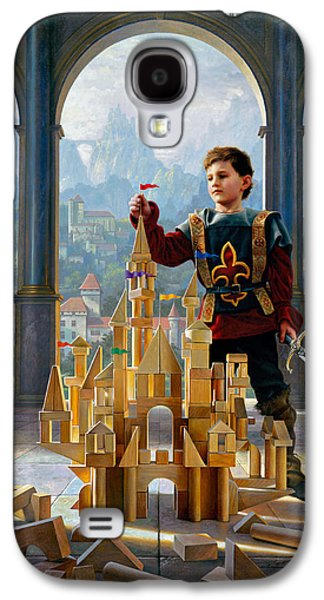 Heir To The Kingdom Galaxy S4 Case by Greg Olsen