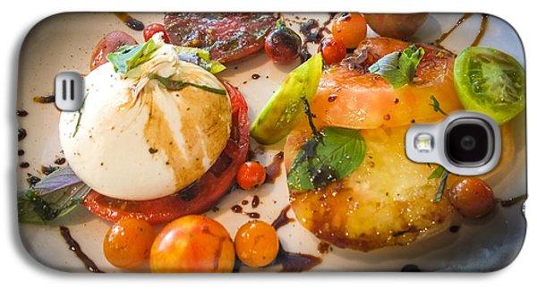 Vinegar Galaxy S4 Cases - Heirloom Tomato Salad Galaxy S4 Case by Karen Wiles