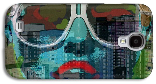 Hot In The City  Galaxy S4 Case by Paul Sutcliffe