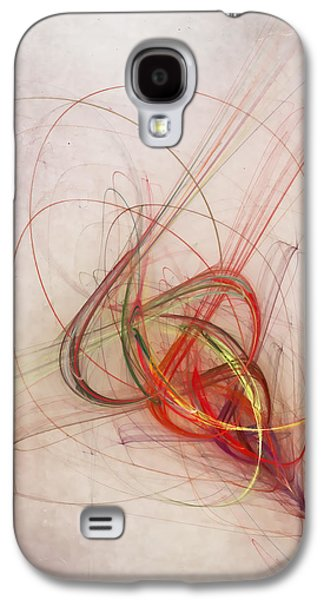 Vertical Digital Art Galaxy S4 Cases - Helix Galaxy S4 Case by Scott Norris