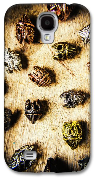 Helmets From The Iron Guard Galaxy S4 Case by Jorgo Photography - Wall Art Gallery