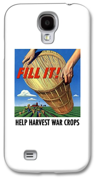 Farming Galaxy S4 Cases - Help Harvest War Crops Galaxy S4 Case by War Is Hell Store
