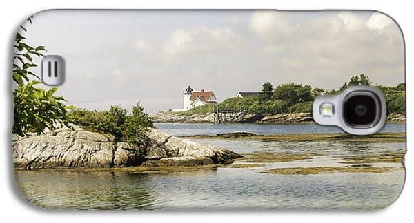 Mid-coast Maine Galaxy S4 Cases - Hendricks Head Lighthouse Galaxy S4 Case by Phyllis Taylor
