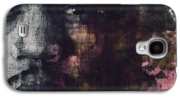 Jimi Hendrix Galaxy S4 Cases - Hendrix Retro Galaxy S4 Case by Paul Lovering