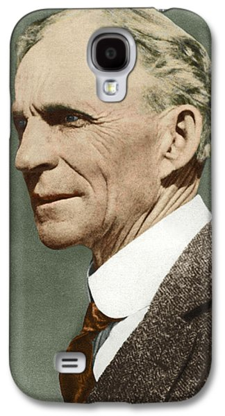 Technological Photographs Galaxy S4 Cases - Henry Ford, Us Car Manufacturer Galaxy S4 Case by Sheila Terry