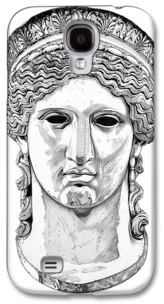 Bust Sculptures Galaxy S4 Cases - Hera _ V1 Galaxy S4 Case by Bruce Algra