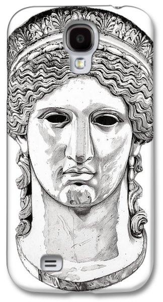 European Sculptures Galaxy S4 Cases - Hera _ V1 Galaxy S4 Case by Bruce Algra