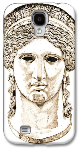 Bust Sculptures Galaxy S4 Cases - Hera _ V2 Galaxy S4 Case by Bruce Algra