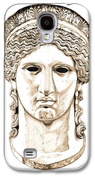 European Sculptures Galaxy S4 Cases - Hera _ V2 Galaxy S4 Case by Bruce Algra