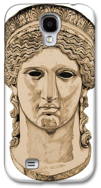 Bust Sculptures Galaxy S4 Cases - Hera _ V3 Galaxy S4 Case by Bruce Algra