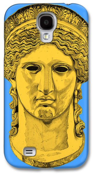 Bust Sculptures Galaxy S4 Cases - Hera _ V4 Galaxy S4 Case by Bruce Algra