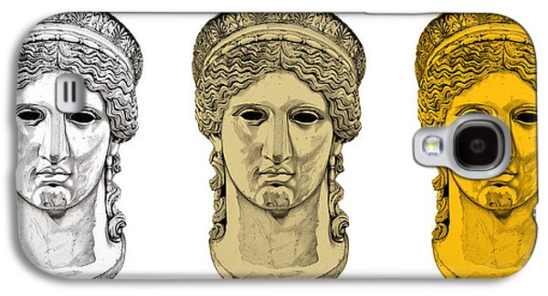 Bust Sculptures Galaxy S4 Cases - Hera _ V6 Galaxy S4 Case by Bruce Algra