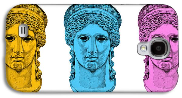 Bust Sculptures Galaxy S4 Cases - Hera _ V7 Galaxy S4 Case by Bruce Algra