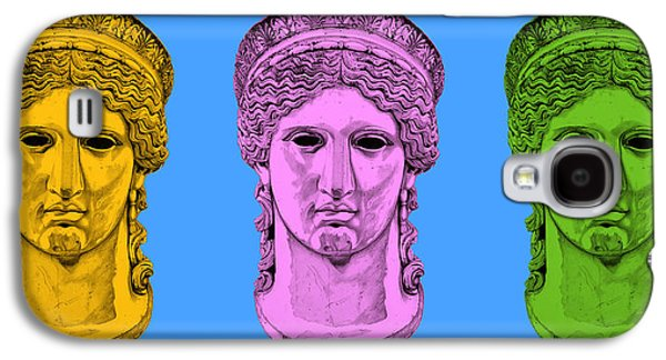 Bust Sculptures Galaxy S4 Cases - Hera _ V8 Galaxy S4 Case by Bruce Algra