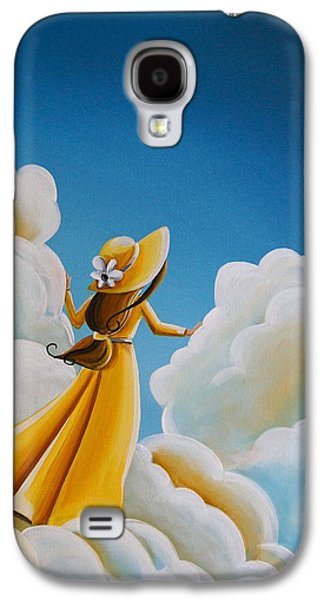 Girl Galaxy S4 Cases - Here Comes The Sun Galaxy S4 Case by Cindy Thornton