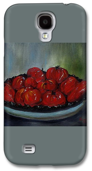 Heritage Tomatoes Galaxy S4 Case by Judith Rhue