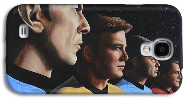 Heroes Of The Final Frontier Galaxy S4 Case by Kim Lockman