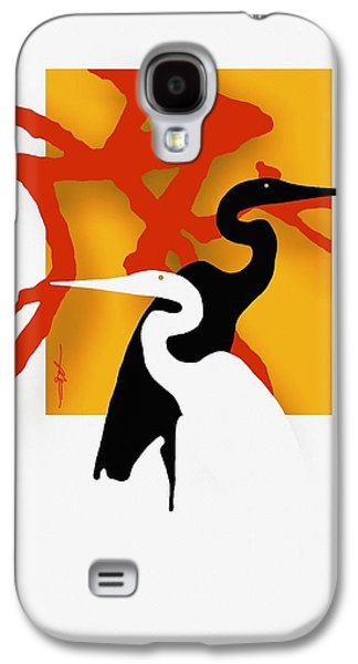 Herons  Galaxy S4 Case by Bob Salo