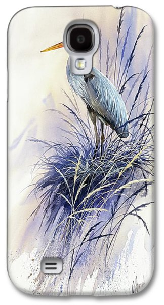 Herons Grace Galaxy S4 Case by James Williamson