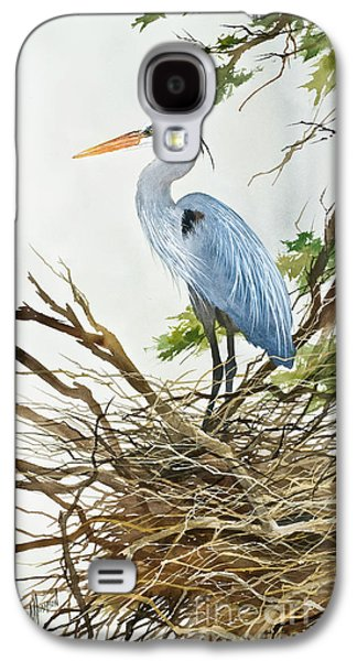 Herons Nest Galaxy S4 Case by James Williamson
