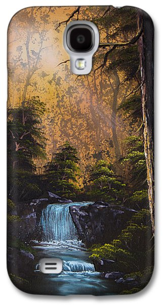 C Steele Paintings Galaxy S4 Cases - Hidden Brook Galaxy S4 Case by C Steele