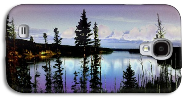 Abstract Digital Drawings Galaxy S4 Cases - Hidden Paradise Galaxy S4 Case by TLynn Brentnall