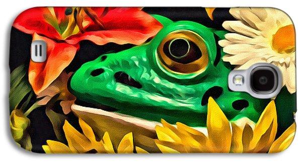 Hiding Frog Galaxy S4 Case by Jeff  Gettis