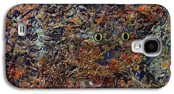 Hiding Galaxy S4 Cases - Hiding Galaxy S4 Case by James W Johnson