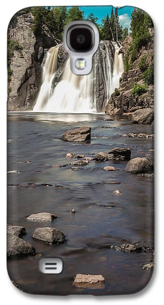 Landscape Acrylic Prints Galaxy S4 Cases - High Falls of Tettegouche State Park 3 Galaxy S4 Case by Bill Bucu