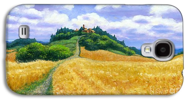 High Noon Tuscany Oil On Canvas Galaxy S4 Case by Michael Swanson