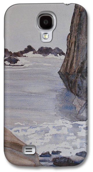 Sculptures Galaxy S4 Cases - High Tide at Seal Rock Galaxy S4 Case by Jenny Armitage