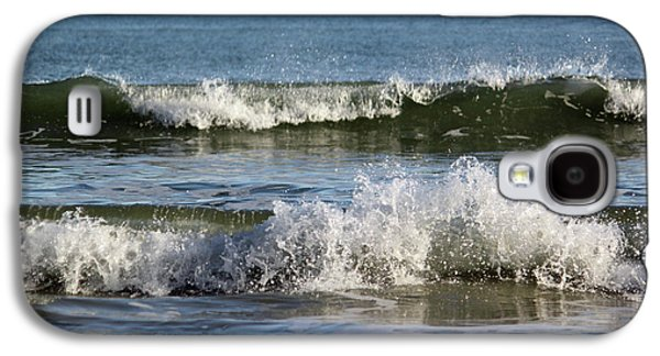 Waterscape Galaxy S4 Cases - High Tide Coming Galaxy S4 Case by Suzanne Gaff