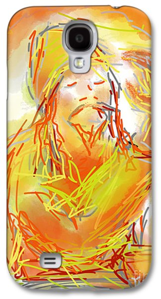 Religious Drawings Galaxy S4 Cases - Higher Power Galaxy S4 Case by Robert Yaeger
