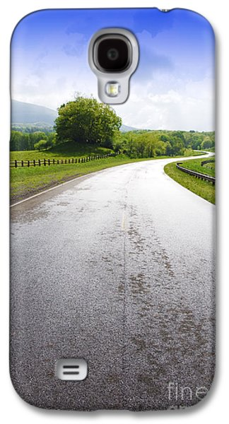 Scenic Galaxy S4 Cases - Highland Scenic Highway Route 150 Galaxy S4 Case by Thomas R Fletcher